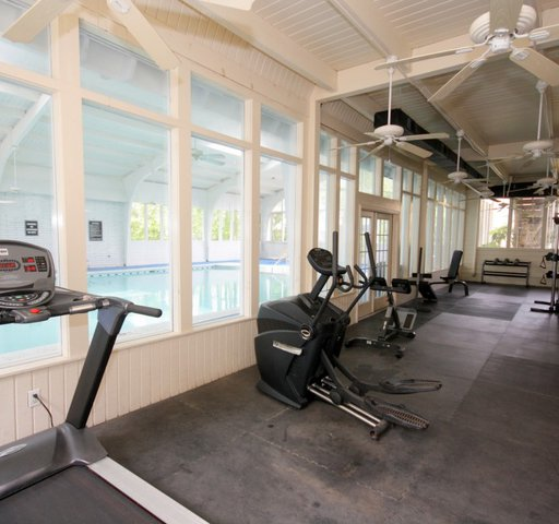 Cobblestone Apartment Homes interior fitness